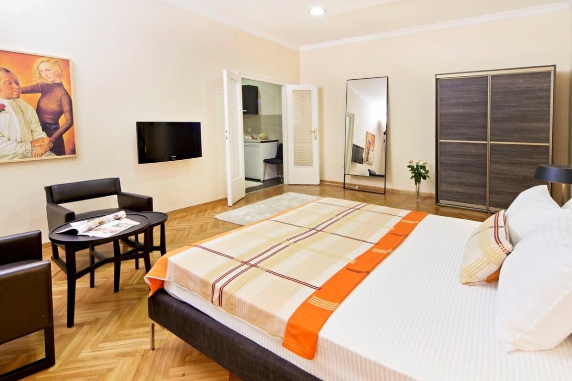 Apartmani Beograd | Apartman A20 | Strogi centar Knez Mihailova - Prva spavaća soba