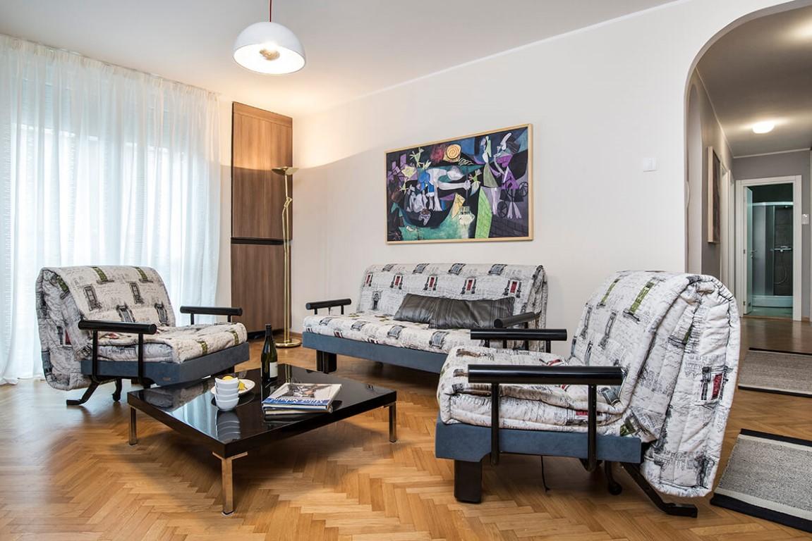 Apartmani Beograd | Apartman A42 | Nušićeva Terazije - Dnevni boravak