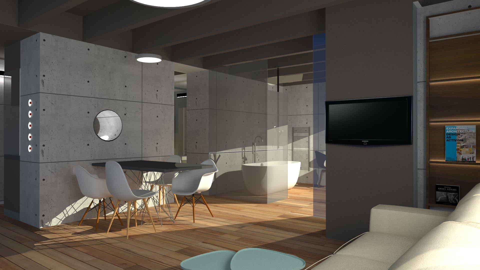 Apartmani Beograd | Luksuzni apartmani u Beogradu | Apartman A34 - Dnevni boravak i trpezarija