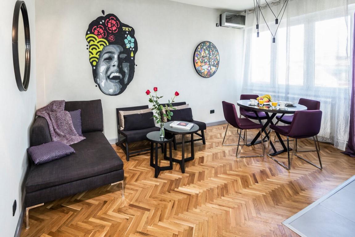 Apartmani Beograd | Beograd Apartmani | Apartman A11 - Dnevni boravak i trpezarija