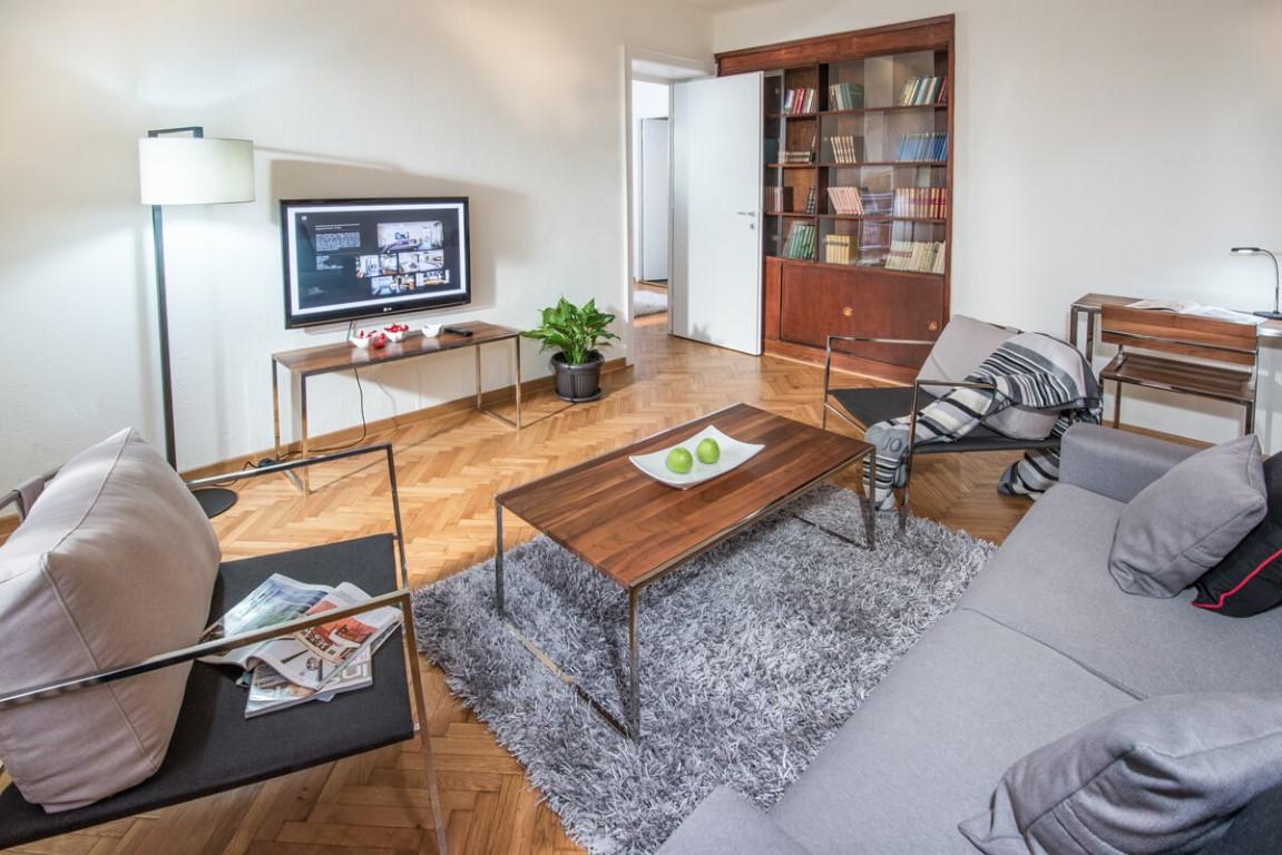 Apartmani Beograd | Sa terasom | Apartman A30 - Dnevni boravak