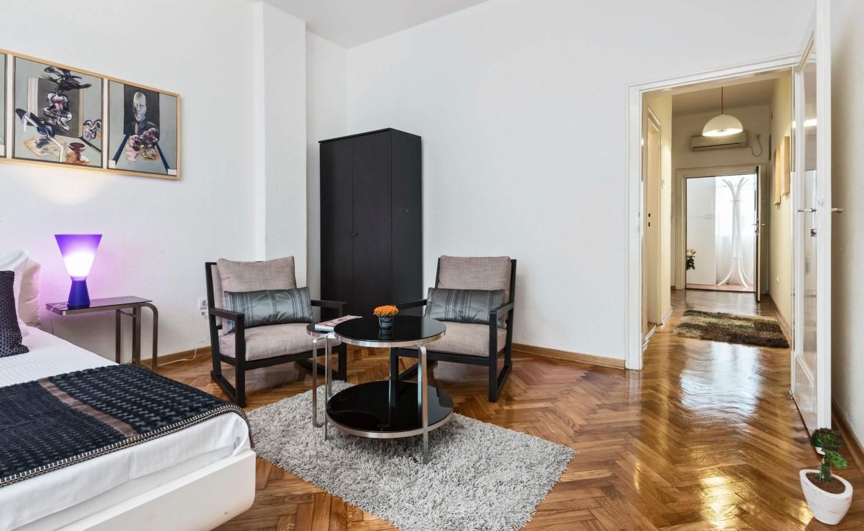 Apartmani Beograd | Apartman A16 | Strogi centar Terazije i pogled na hodnik