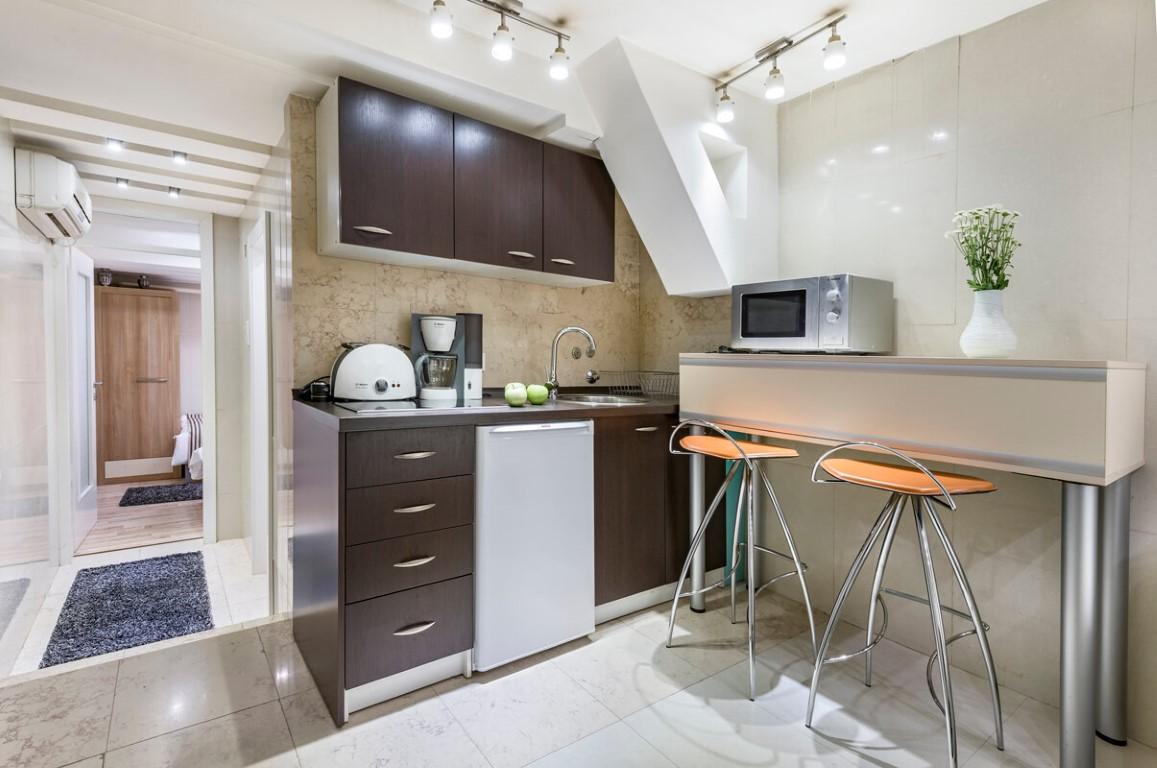 Apartmani Beograd | Jeftin smeštaj sa parkingom | Apartman A0 - Kuhinja