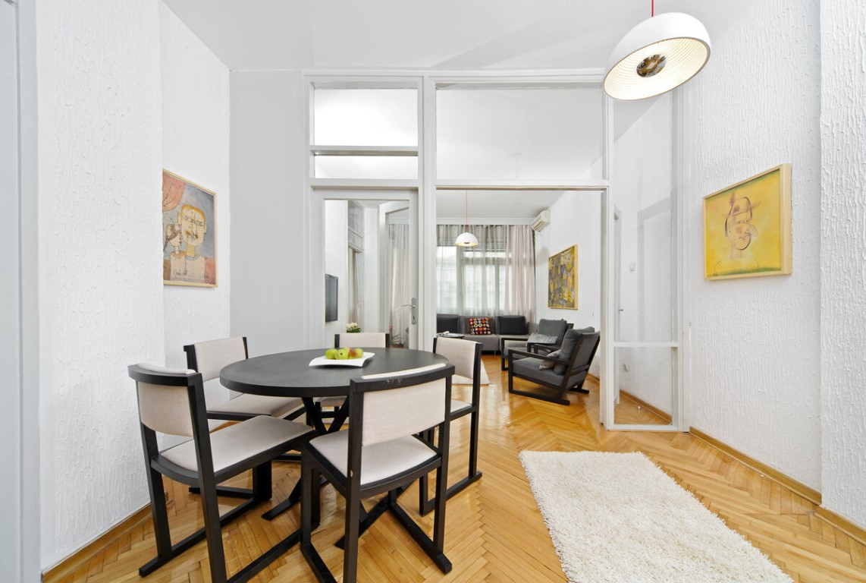 Apartmani Beograd | Apartman A41 | Strogi centar - Trpezarija