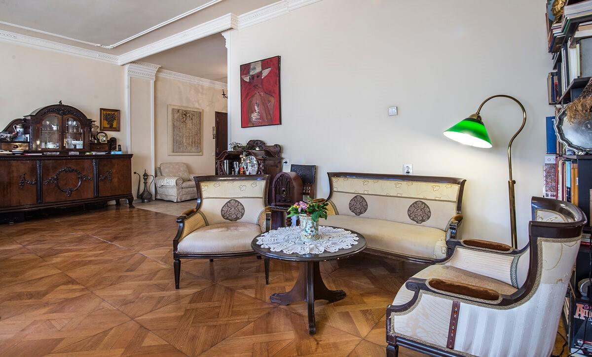 Apartmani Beograd | Apartman A44 | Strogi centar - Dnevni boravak