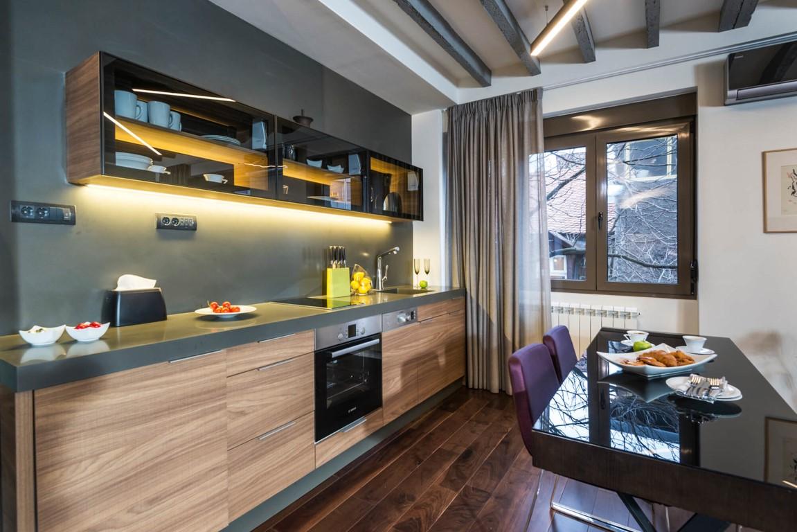 Apartmani Beograd | Luksuzni apartmani u Beogradu | Apartman A34 - Kuhinja