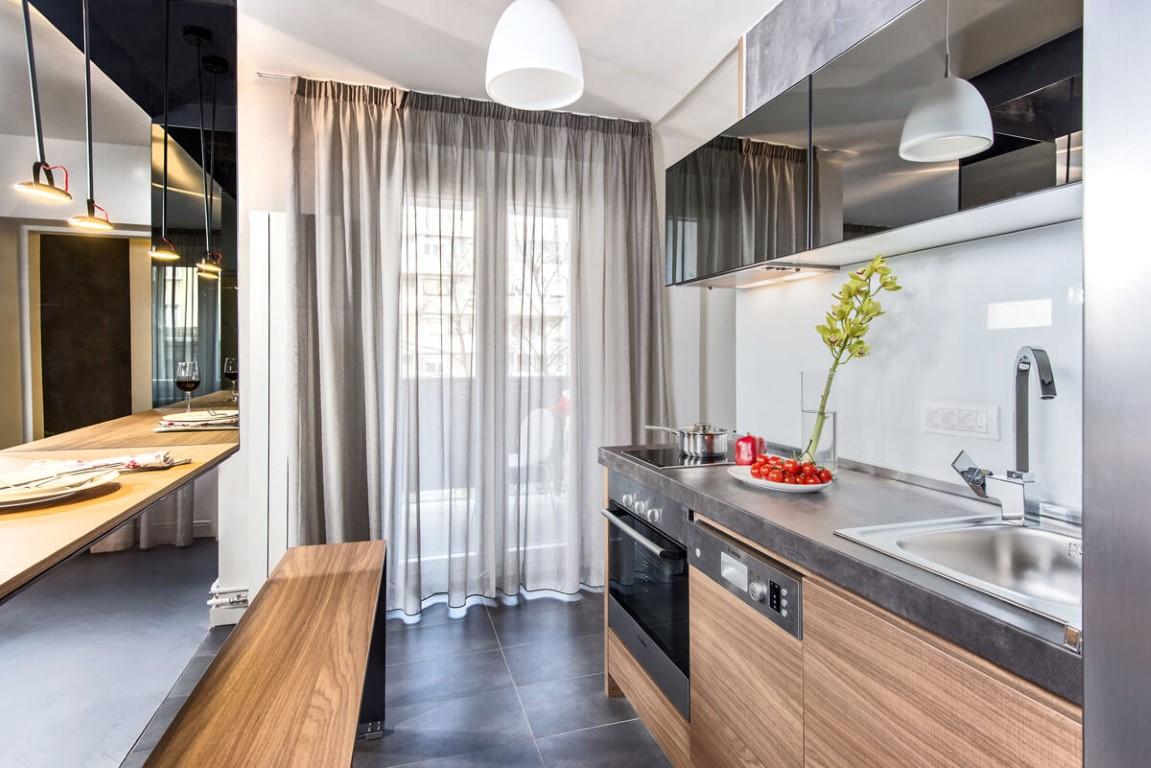 Apartmani Beograd | Luksuzni smeštaj Beograd | Apartman A10 - Kuhinja i trpezarija