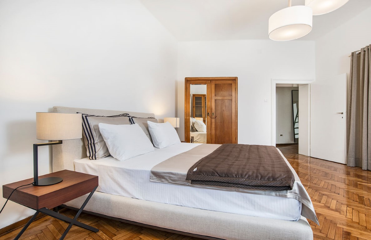 Apartmani Beograd   Apartman A24   Strogi centar Pionirski park - Prva spavaća soba