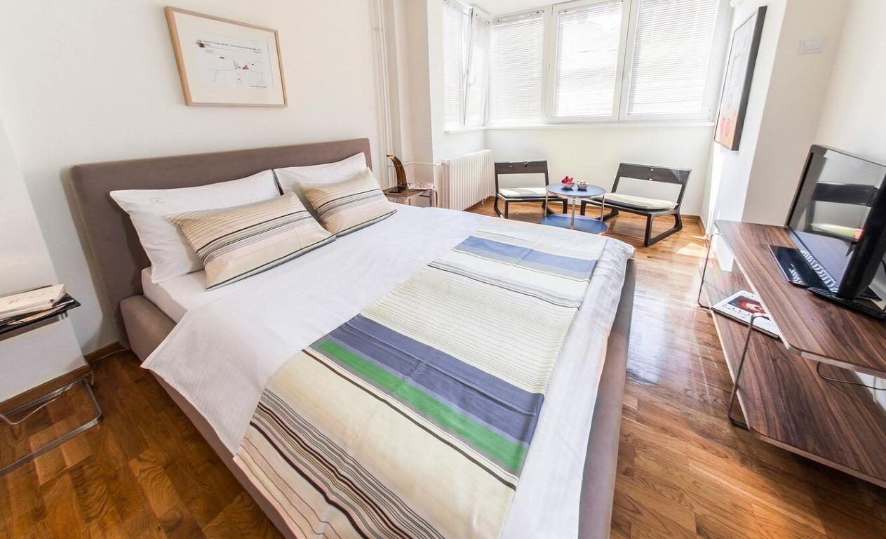 Apartmani Beograd | Apartman A23 | Skadarlija - Spavaća soba