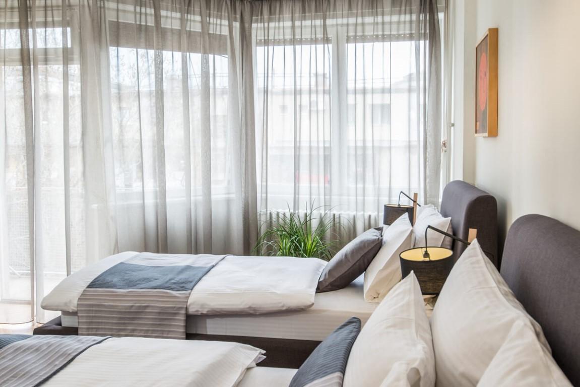 Apartmani Beograd | Sa terasom | Apartman A30 - Spavaća soba i terasa