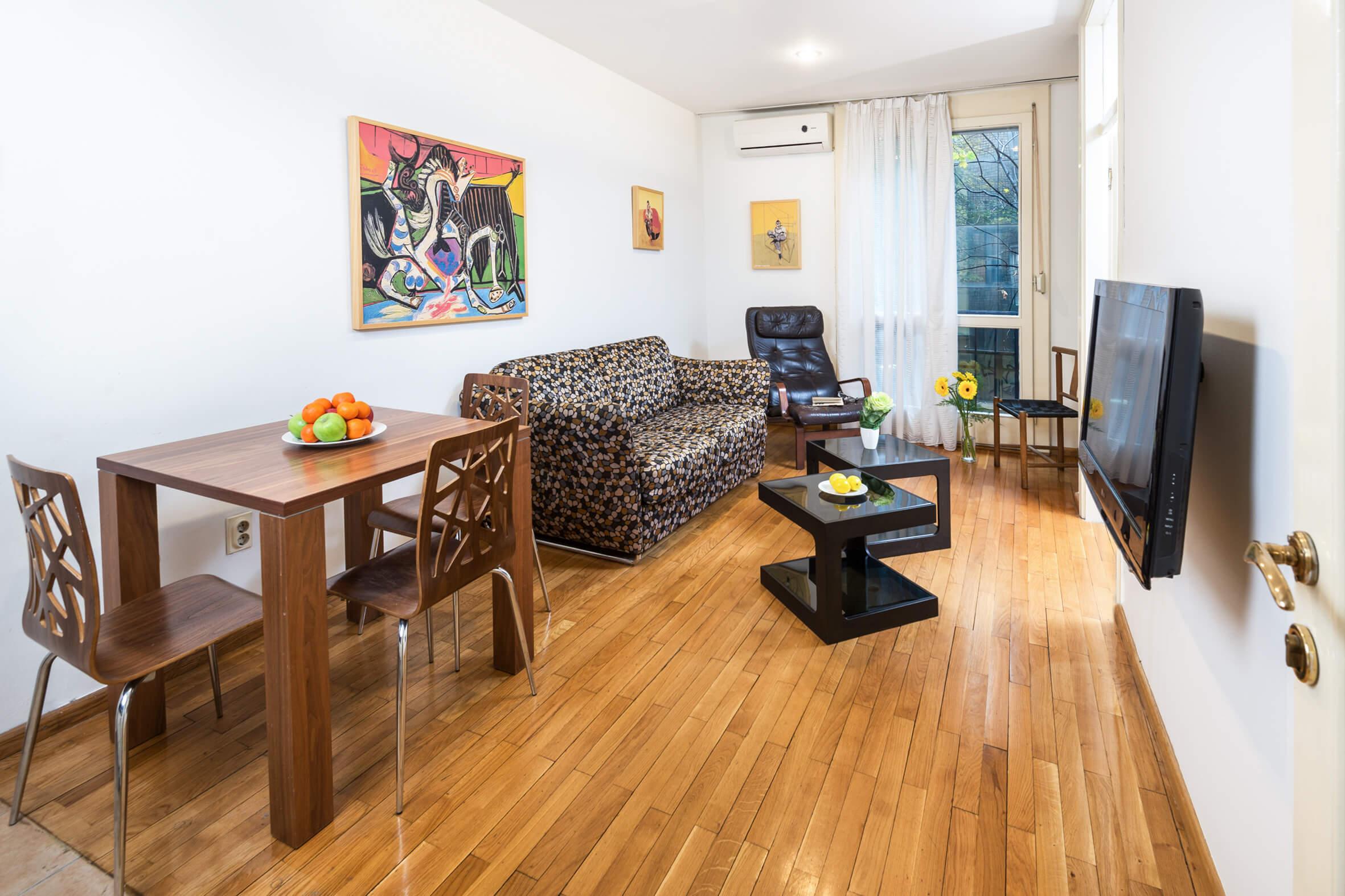 Apartmani Beograd | Stan na dan Beograd centar | Apartman A25 - Dnevni boravak i trpezarija