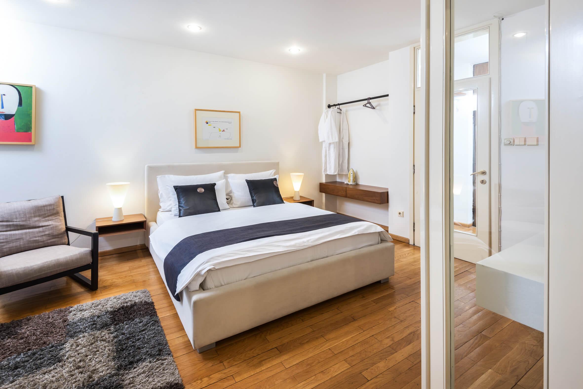 Apartmani Beograd | Stan na dan Beograd centar | Apartman A25 - Spavaća soba